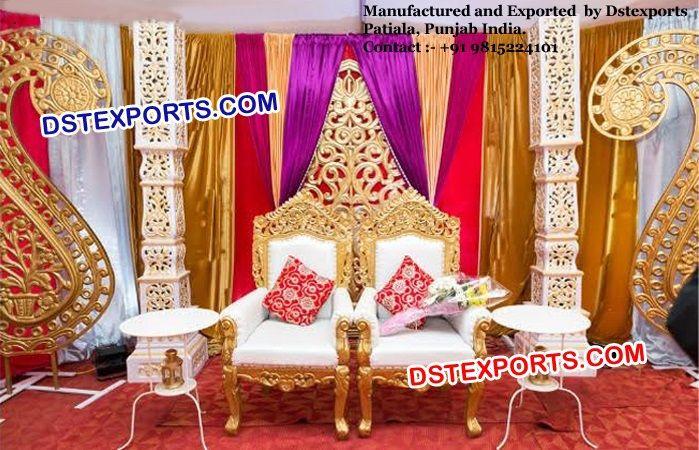 #Punjabi #Wedding #Stage #Decors #Canada #Dstexports