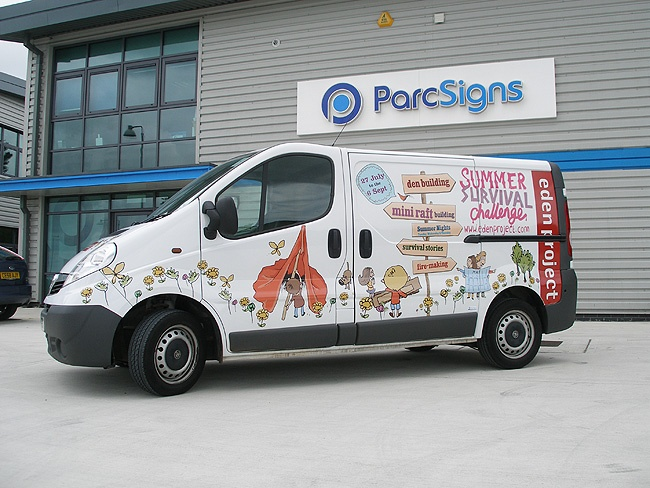 ParcSigns.co.uk - Specialists in van wraps, taxi wraps, car wraps and printed vehicle wraps