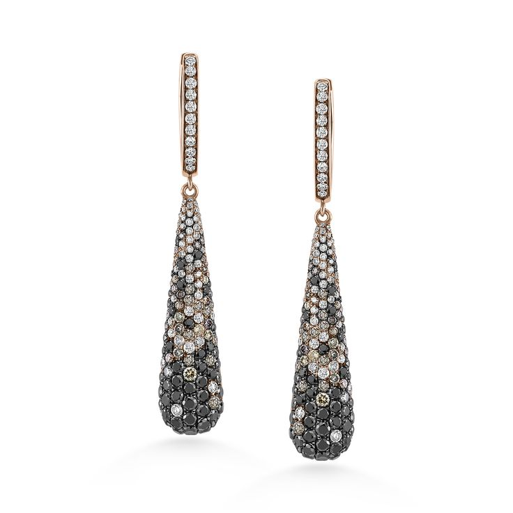 Earrings ALO Galaxy Waterfall www.alodiamonds.com www.alo.cz
