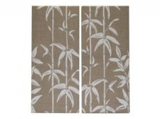 Kelly Hoppen Bamboo Set of 2 Canvases