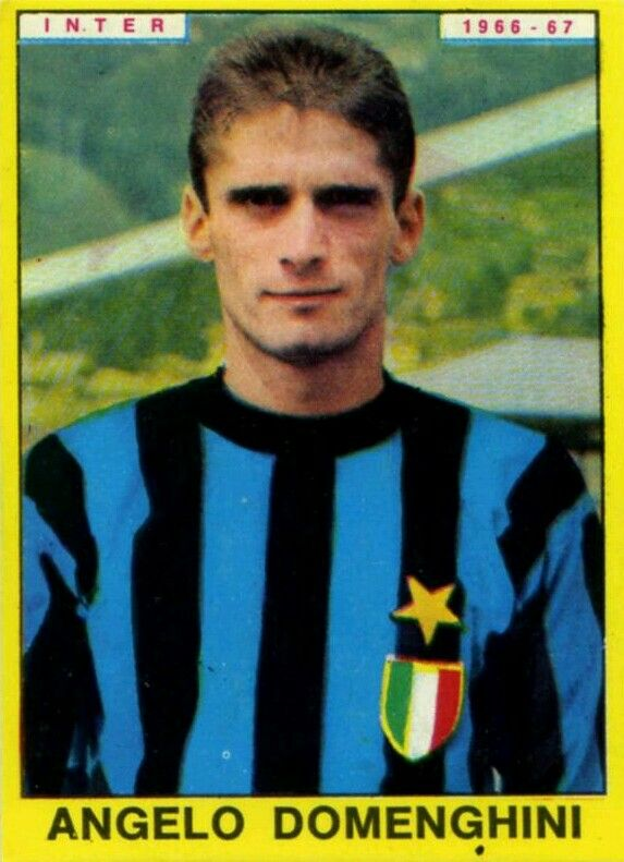 Angelo Domenghini of Inter Milan in 1966.