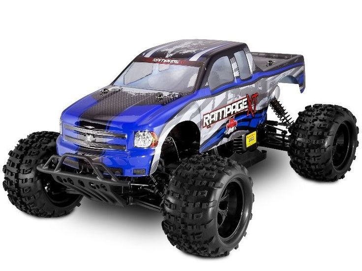 REDCAT RACING RAMPAGE XT 1:5 scale 4X4 RC Gas Monster Truck  $100 in Parts RTR