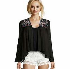 boohoo Boutique Milly Multi Colour Ethnic Jacket - Inject individuality into your look with this edgy embroidered jacket . Team with high waisted mom jeans , a crochet crop top and chunky sole sandals and give your basics a bohemian twist. http://www.comparestoreprices.co.uk/womens-clothes/boohoo-boutique-milly-multi-colour-ethnic-jacket-.asp