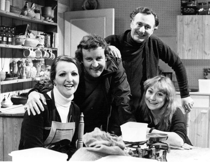 Great cast and writing. The Good Life: Richard Briers, Penelope Keith, Paul Eddington, Felicity Kendall