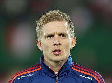 FIFA WC-qualification 2014 - Austria vs Faroe Islands 2013-03-22 - Hjalgrím Elttør 01.jpg