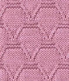 Узор спицами для детской одежды - схема и описание Узор очень простой и подойдет для ручного вязания теплых детских свитеров, жакетов, кардиганов.