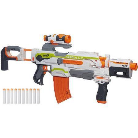 Nerf N Strike toy Modulus ECS 10 Blaster soft dart gun 90 feet launch new