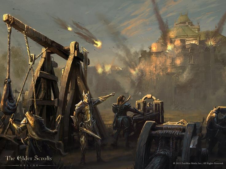 Cyrodiil Under Siege in NEW Elder Scrolls Online Wallpaper