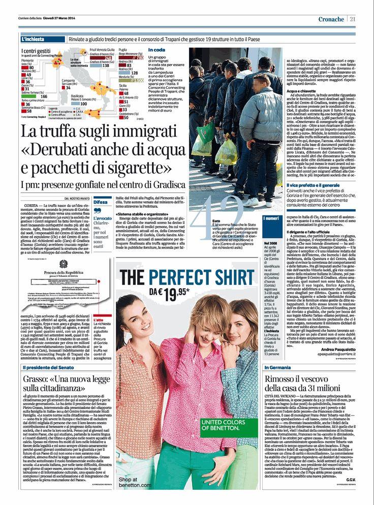 Truffa sui centri di identificazione per immigrati