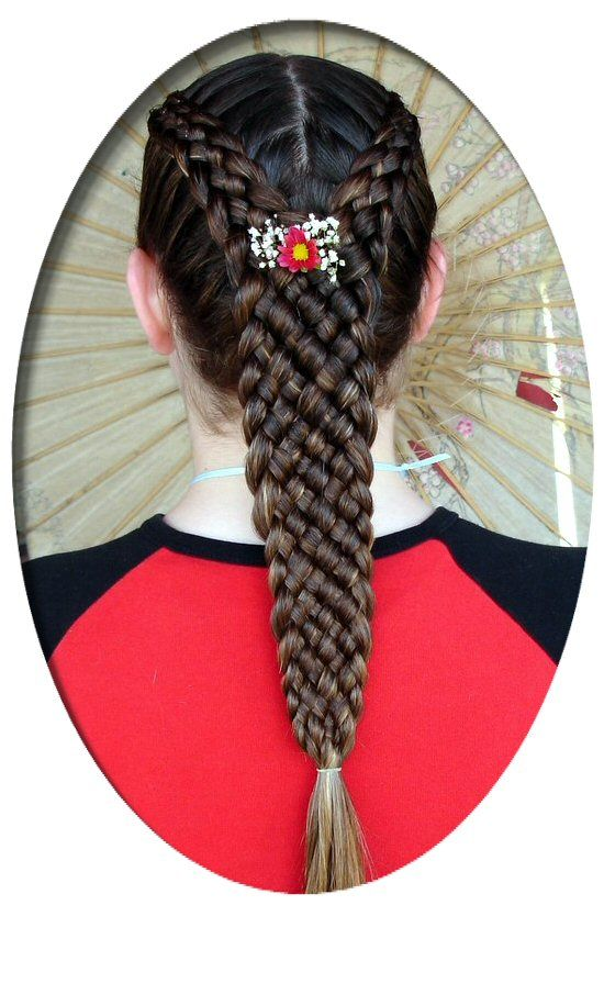 Two Five Strands into a Nine Strand Tail
