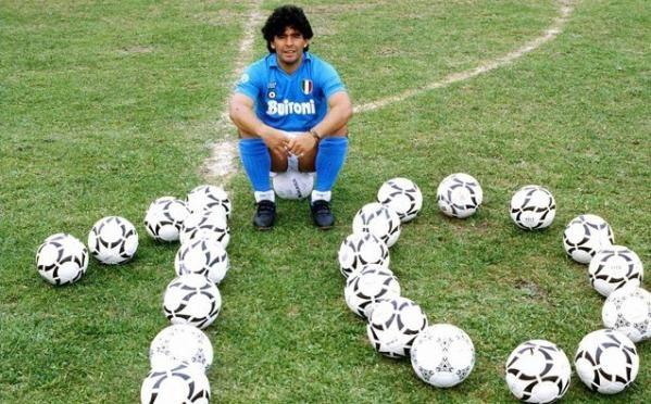 Diego Maradona - legend. Awesome photography