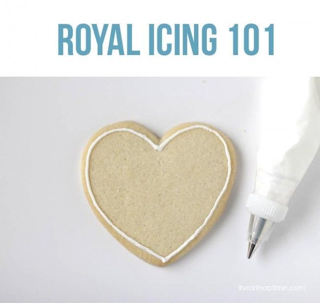 Royal Icing 101 tutorial | I Heart Nap Time #cookies #tips