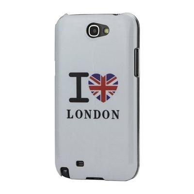 Coque I Love London pour Samsung Galaxy Note 2. Cette coque rigide représente le fameux logo I Love London sur une coque de couleur Blanche. http://www.lookmyphone.com/coque-rigide-samsung-galaxy-note-2/93040-coque-i-love-london-samsung-galaxy-note-2-3700715313279.html