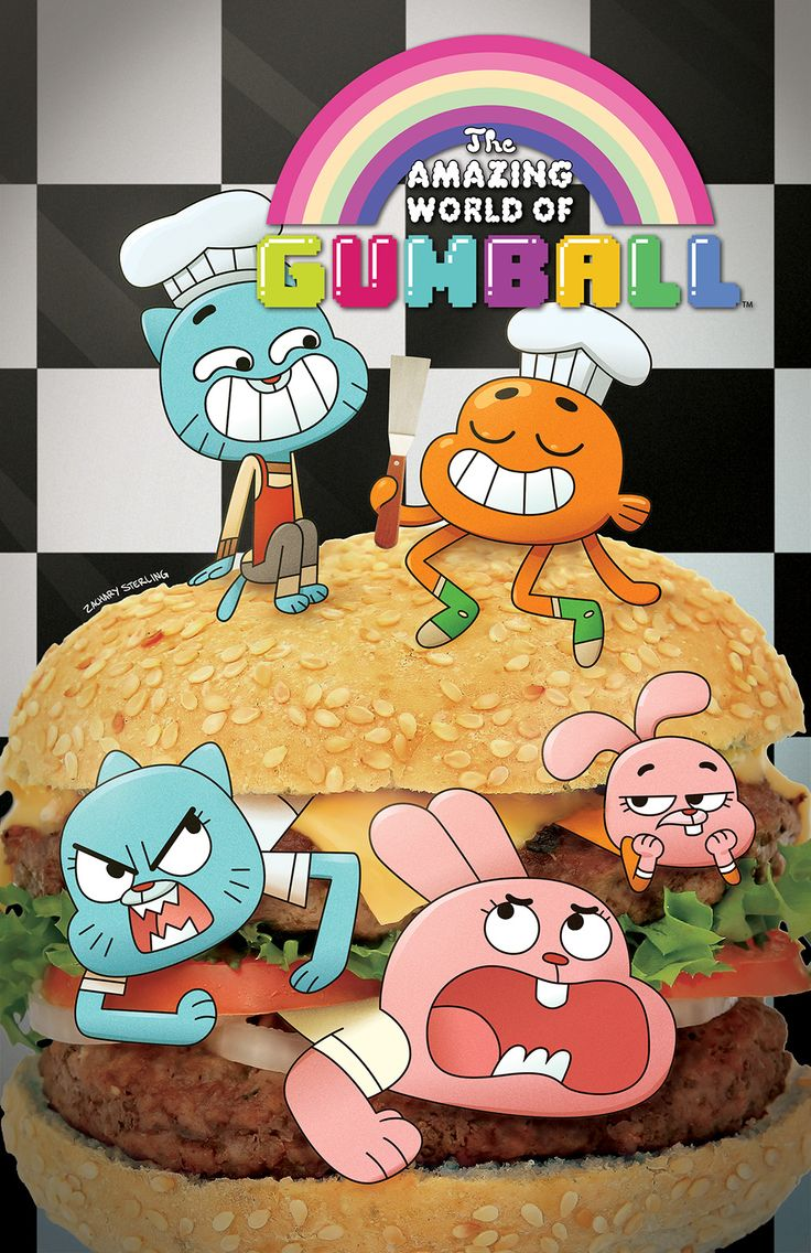 The dress gumball - The Amazing World Of Gumball 1 Cover B Zachary Sterling