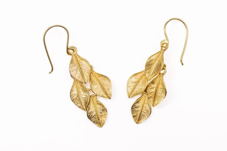 Vermeille Boxwood Earrings