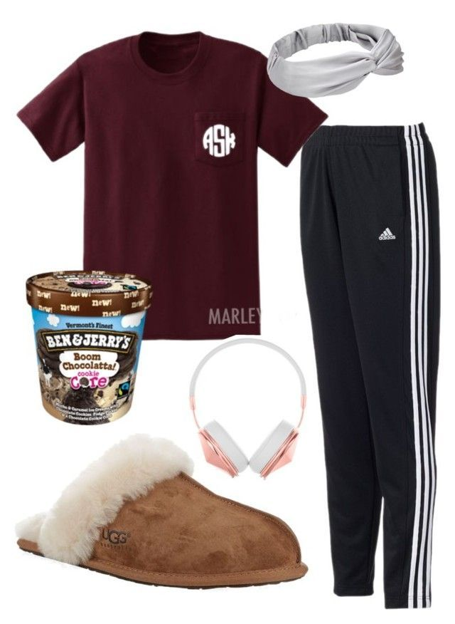 Sweatpants by margaretinmotion on Polyvore featuring adidas, UGG Australia and chloesolms