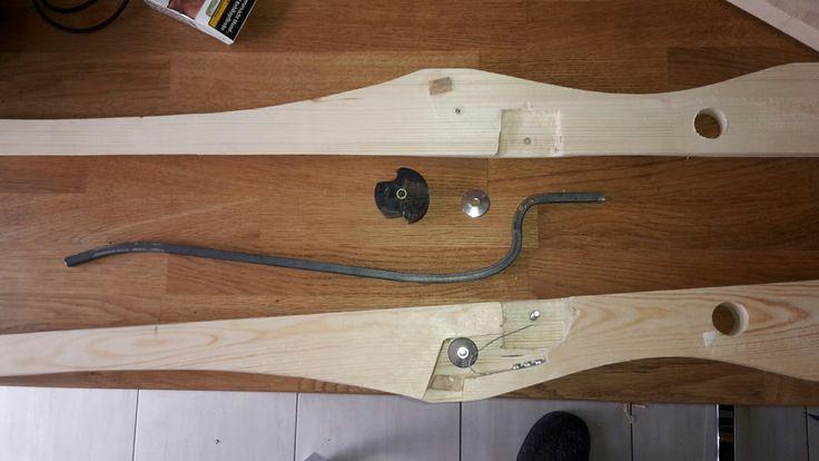 Armbrust mit Nuss - Aufbau 1