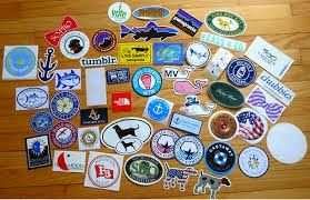 Southern Style: Free Preppy Stickers!