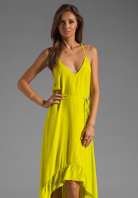 Love this color & style.  Very pretty and looks very comfortable, but a lot of money for such a casual sundress.