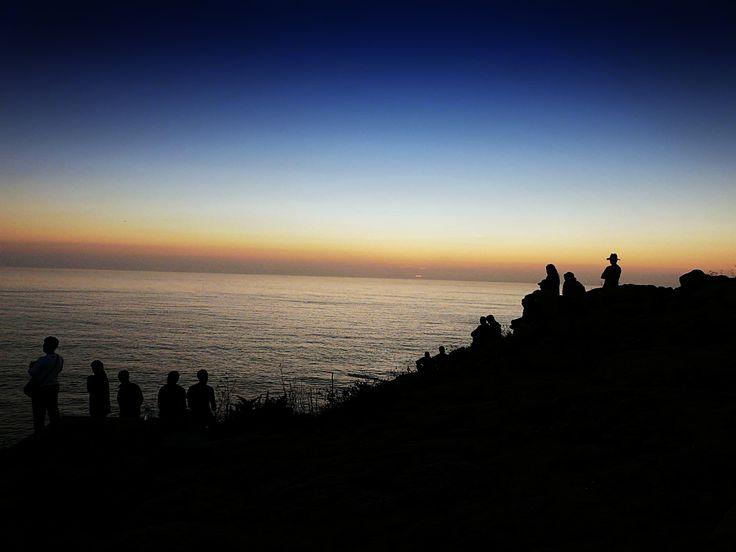 Puesta de sol #finisterre #puestadesol #contraluz #lost