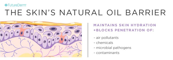 The Skin's Natural Oil Barrier