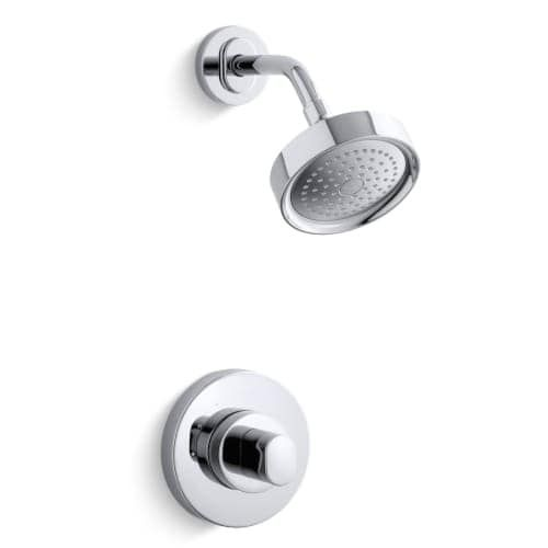 kohler kts100569 oblo ritetemp shower faucet trim tub u0026 shower nickel finish