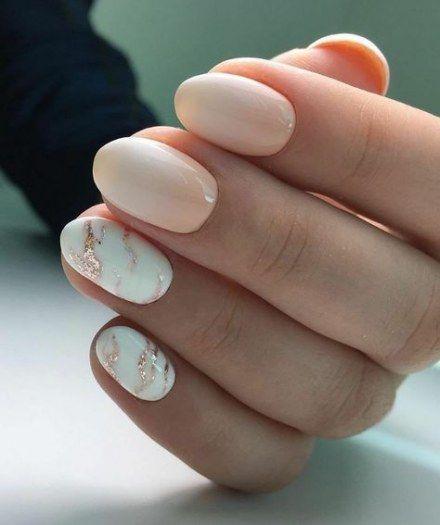 Trendy Nägel Oval Marmor Ideen – Nail strengthener