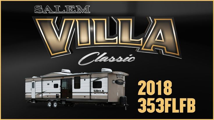 2018 Forest River Salem Villa Classic 353FLFB Park Trailer RV For Sale TerryTown RV Superstore Check out 2018 Salem Villa Classic 353FLFB now at http://ift.tt/2uB8ClO or call TerryTown RV today at 616-426-6407!  Enjoy classic comfortable living at your favorite destination with this 2018 Salem Villa Classic 353FLFB park trailer from TerryTown RV!  This 38 6-long destination trailer features exterior aluminum siding and a 96 exterior width. There are black framed safety tinted safety glass…