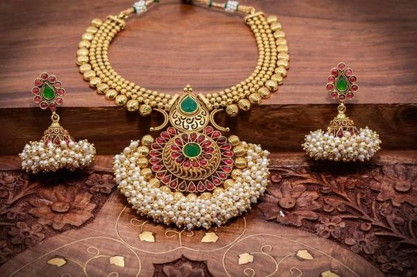 Tradition lives for ever through our latest temple collection -https://www.cooliyo.com/product/88736/traditional-temple-necklace-set/