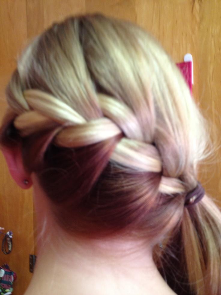 Blonde With Auburn Underneath Locks Pinterest Blondes