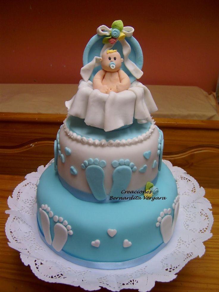 Tortas Para Eventos Torta Cookies Bebe Baby Shower
