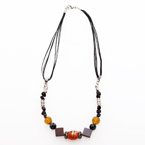 Collarets Brown Necklace