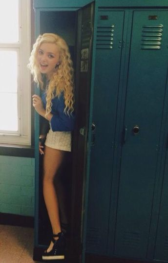 Photo: Peyton List Saying Hi July 19, 2014