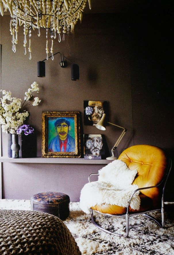 "Foto ""pinnata"" dalla nostra lettrice Archilaura Apartment in London - design Abigail Ahern"
