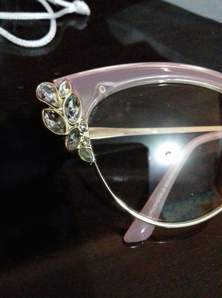 Ralferty Brand Damen Strass Royal Cat Eye Brille Vintage Eyewear F97329