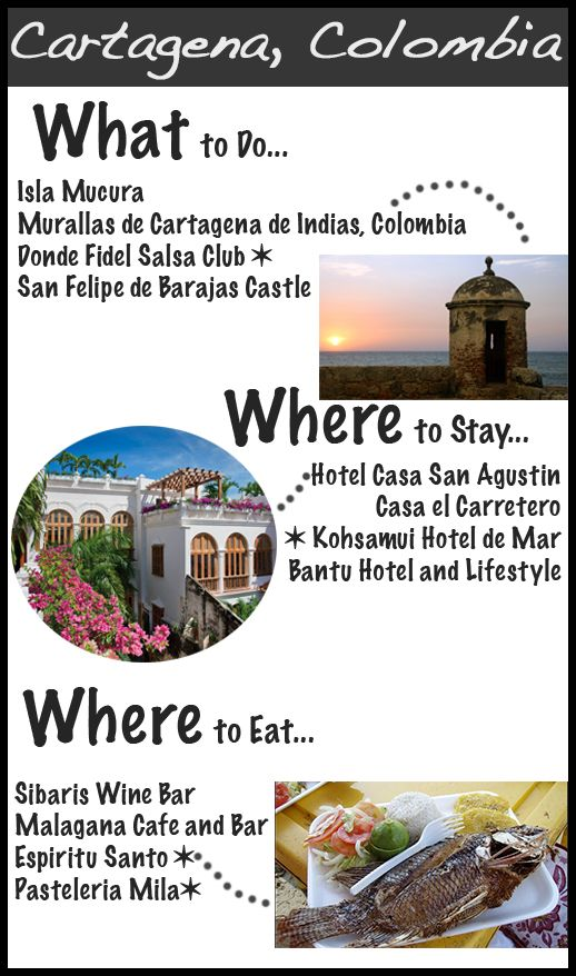 Cartagena Colombia Travel Guide http://www.the-coreport.com/passport-style-cartagena-colombia/