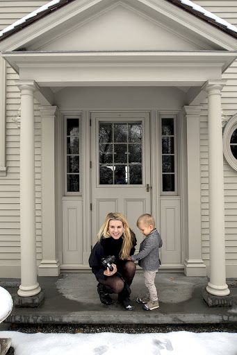Alexis and Truman sharing a private moment in the Winter House Courtyard.