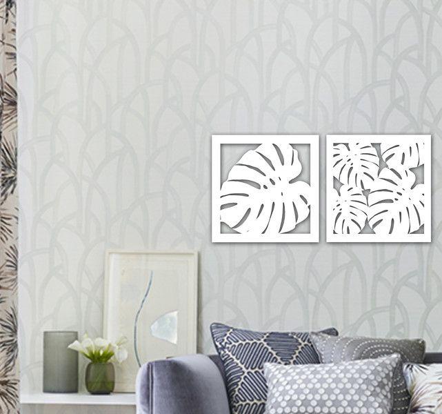 """Obraz drewniany """"Monstera"""" - dekor8 - Ozdoby na ścianę"""