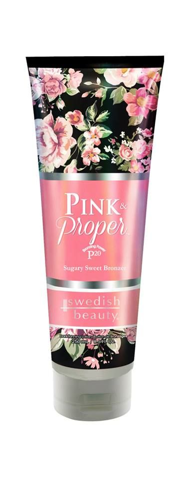 2015 Tanning Lotion Reviews @ Lotion Review.com: Swedish Beauty Pink & Proper Bronzer