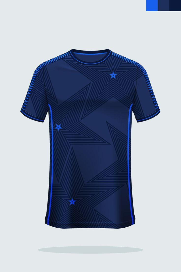 Download T-shirt sport mockup template design for soccer jersey ...