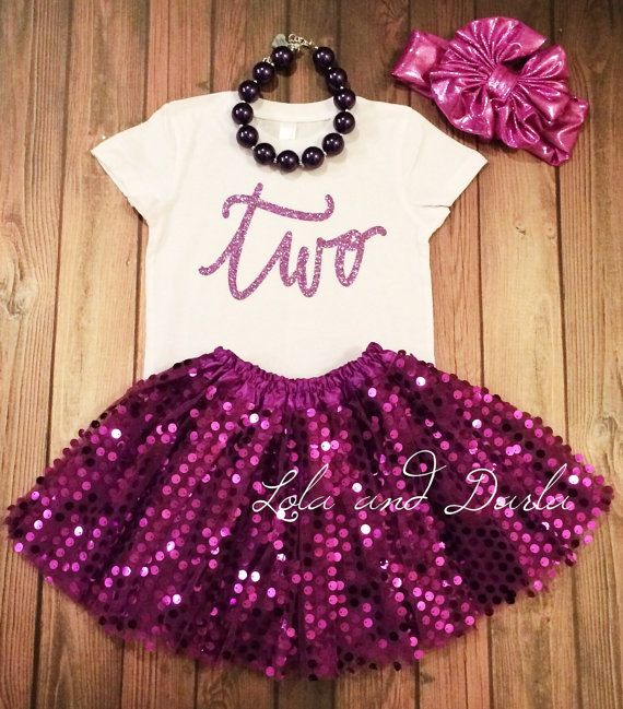 Number two shirt. Purple sparkle.  T shirt for toddlers and girls.    Available Sizes:    2T, 3T, 4T    XS 4/5, S 6/6X, M 7/8, L 10/12