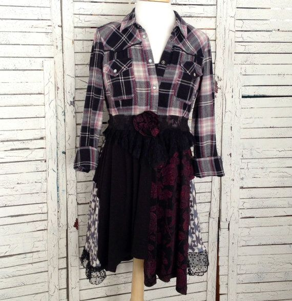 77 Best Flannel Shirt Refashions Images On Pinterest