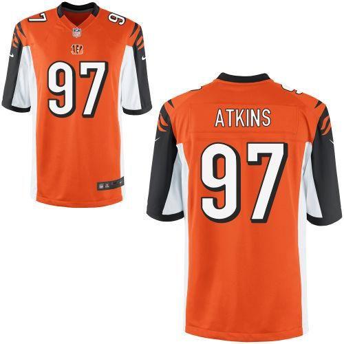 geno atkins game worn jersey
