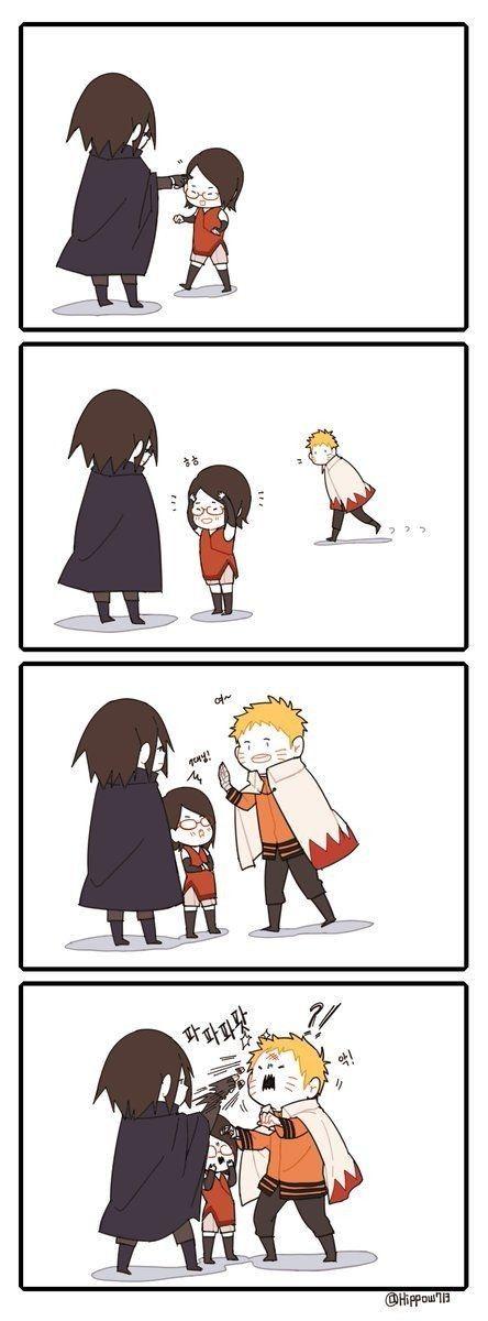 The Love Poke & The Hate Poke | Naruto