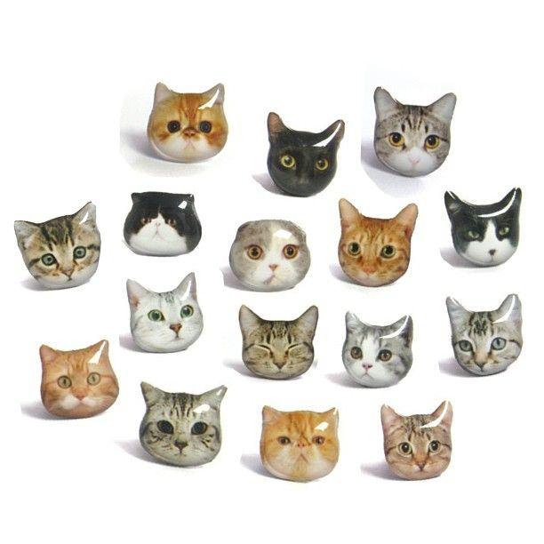 +/ cat earrings