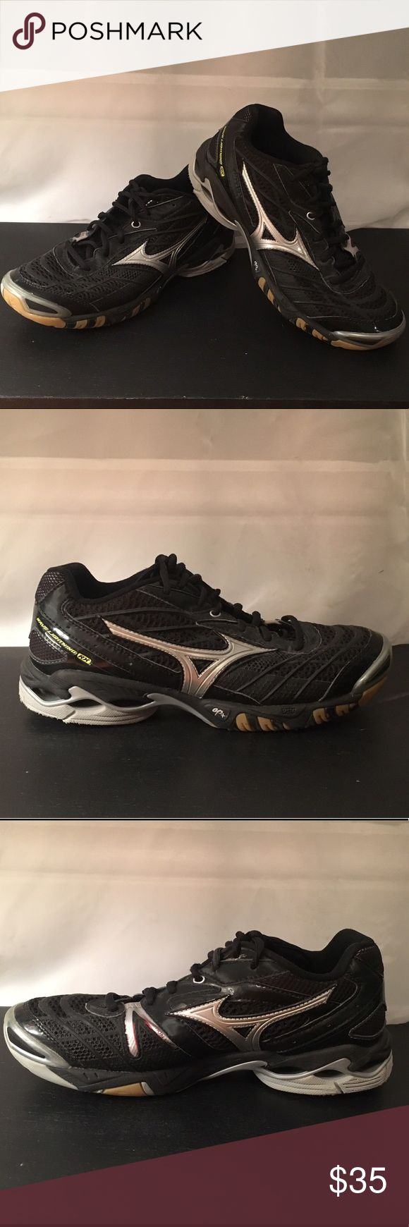 Mizuno Volleyball Shoes Mizuno Wave Lightning RX volleyball shoes. Worn one season inside only. Still in excellent condition. Size 8.5. Mizuno Shoes Athletic Shoes