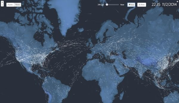 In Flight: See Every Plane in the Air Right Now