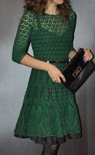 Tina's handicraft : masterpiece crochet dress
