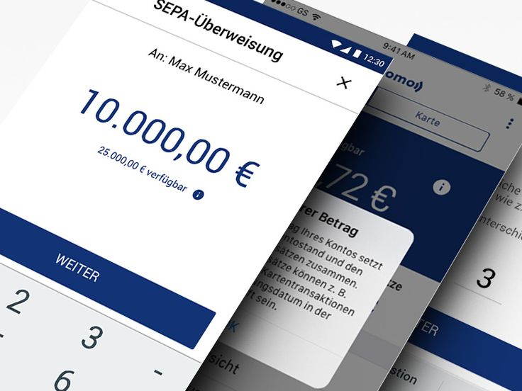 Online Banking App by comwrap