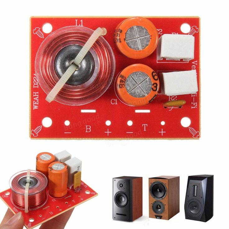 Adjustable Dual Channel Hi-Fi Audio Speaker Frequency Divider Stereo Crossover Filters